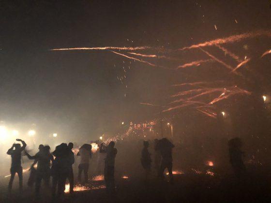 On fire in San Miguel De Allende!